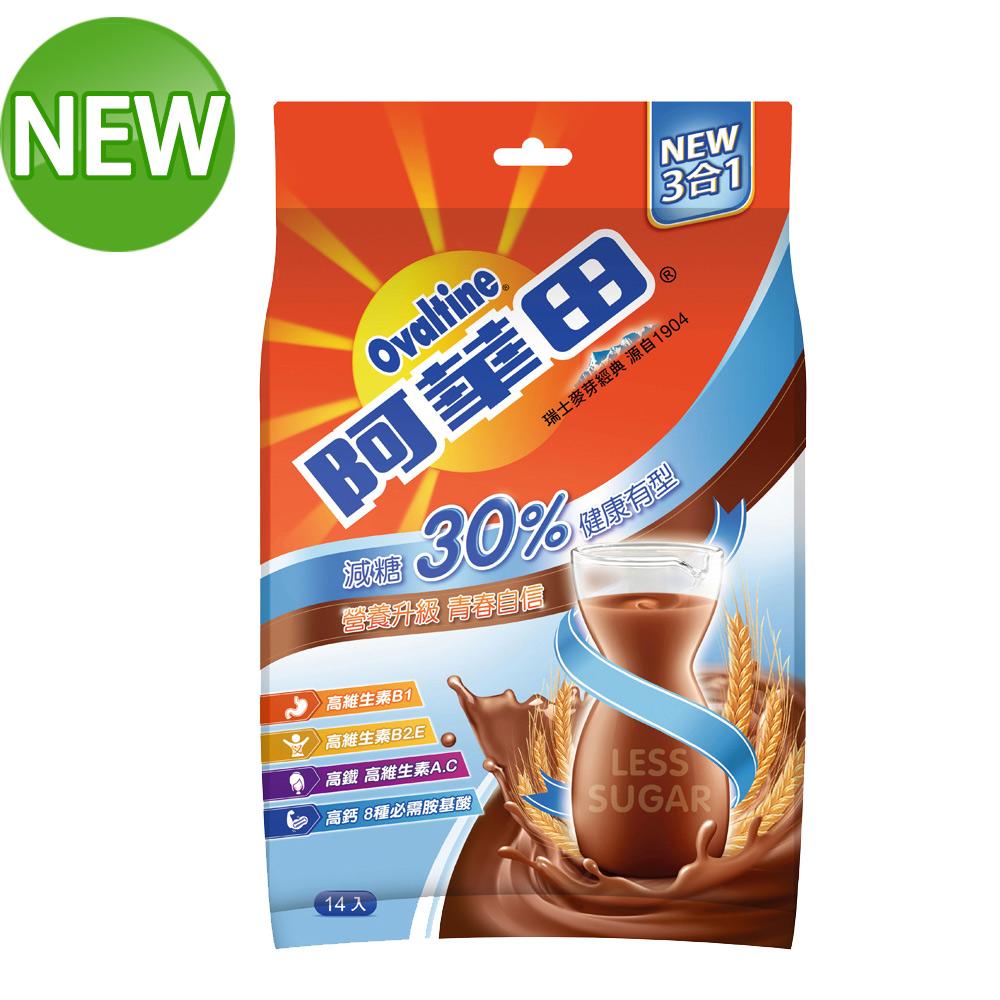 (時時樂) 阿華田 減糖巧克力營養麥芽飲品(31gx14入)