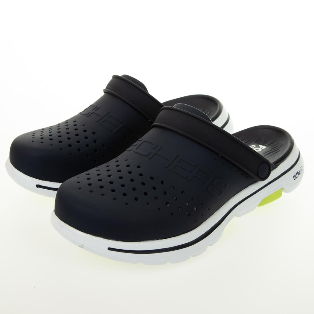 SKECHERS 男健走系列 涼拖鞋 FOAMIES GO WALK 5 水鞋 - 243010NVY