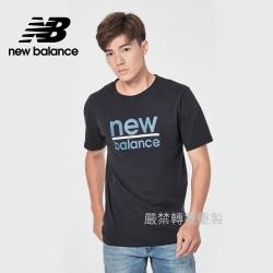 【New Balance】基本短袖T恤_男性_黑色_MT11905BK