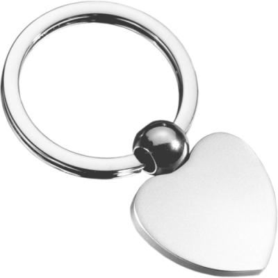 《REFLECTS》愛心鑰匙圈(銀)