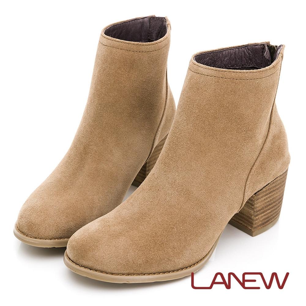 LA NEW 知性簡約麂皮淑女短靴(女226048710)