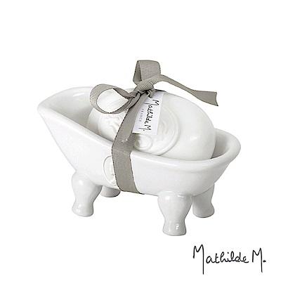 Mathilde M.法國瑪恩 典雅玫瑰浴缸香皂組