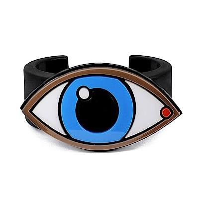 Yazbukey法國品牌 藍眼睛壓克力手環