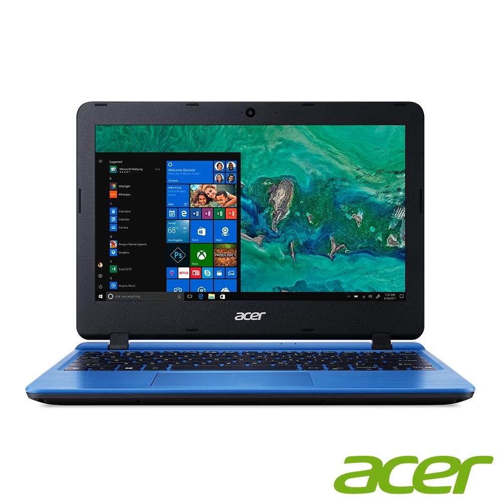 Acer A111-31-C3M0 11.6吋小筆電(N4000/4G/64G SSD/Aspire 1/藍)
