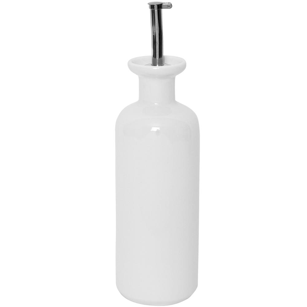 《EXCELSA》陶製油醋瓶(白335ml)