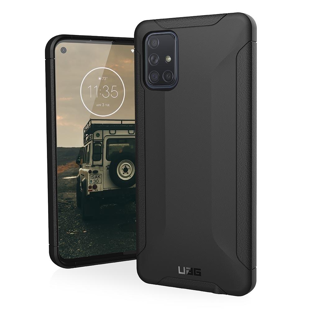 UAG Galaxy A71 耐衝擊保護殼-黑