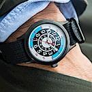 TIMEX x TODD SNYDER聯名限量Black Jack復古賽車-黑藍/40mm