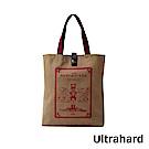 Ultrahard 藏書票閱讀書袋- 胡桃鉗(卡其)