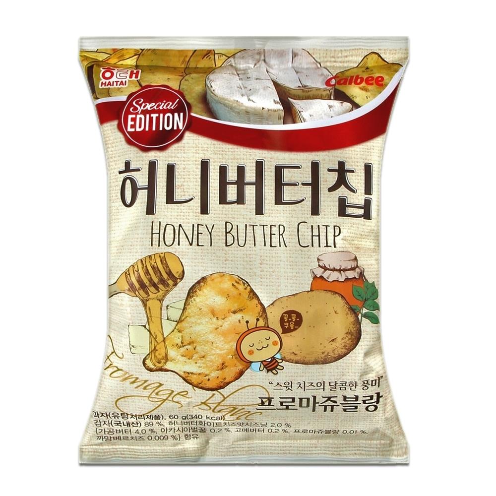 海太 蜂蜜奶油洋芋片-白起司味(60g)