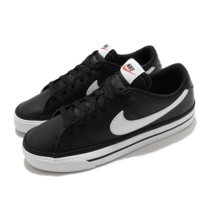 Nike 休閒鞋 Court Legacy 運動 男鞋 基本款 簡約 舒適 球鞋 穿搭 黑 白 CU4150002