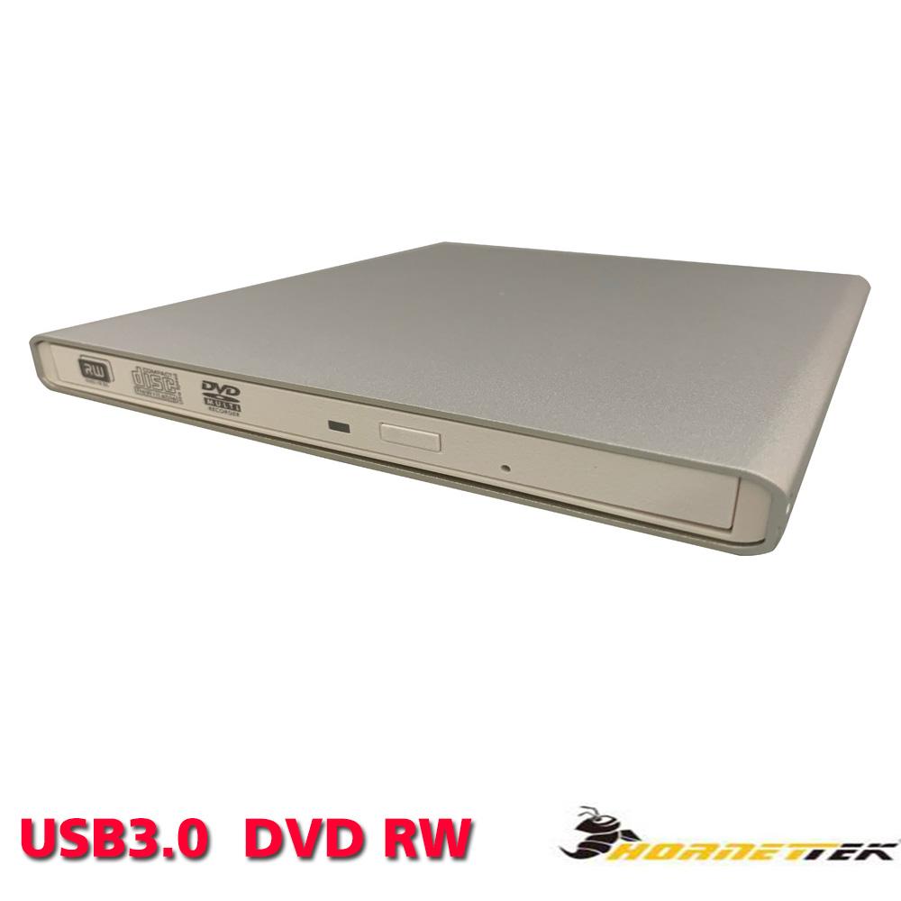 Hornettek-USB3.0超薄型外接式DVD燒錄機
