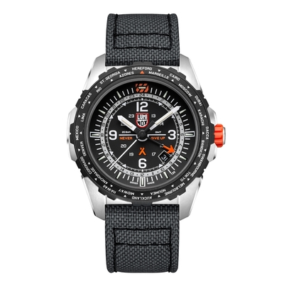 LUMINOX 雷明時Bear Grylls Survival 貝爾荒野求生系列AIR GMT腕錶 – 3761
