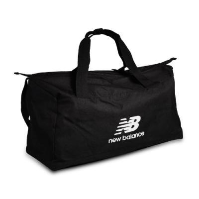 New Balance 手提袋 Medium Holdall 男女款 紐巴倫 健身房 大容量 斜背 旅行包 黑 白 BG03203GBKW