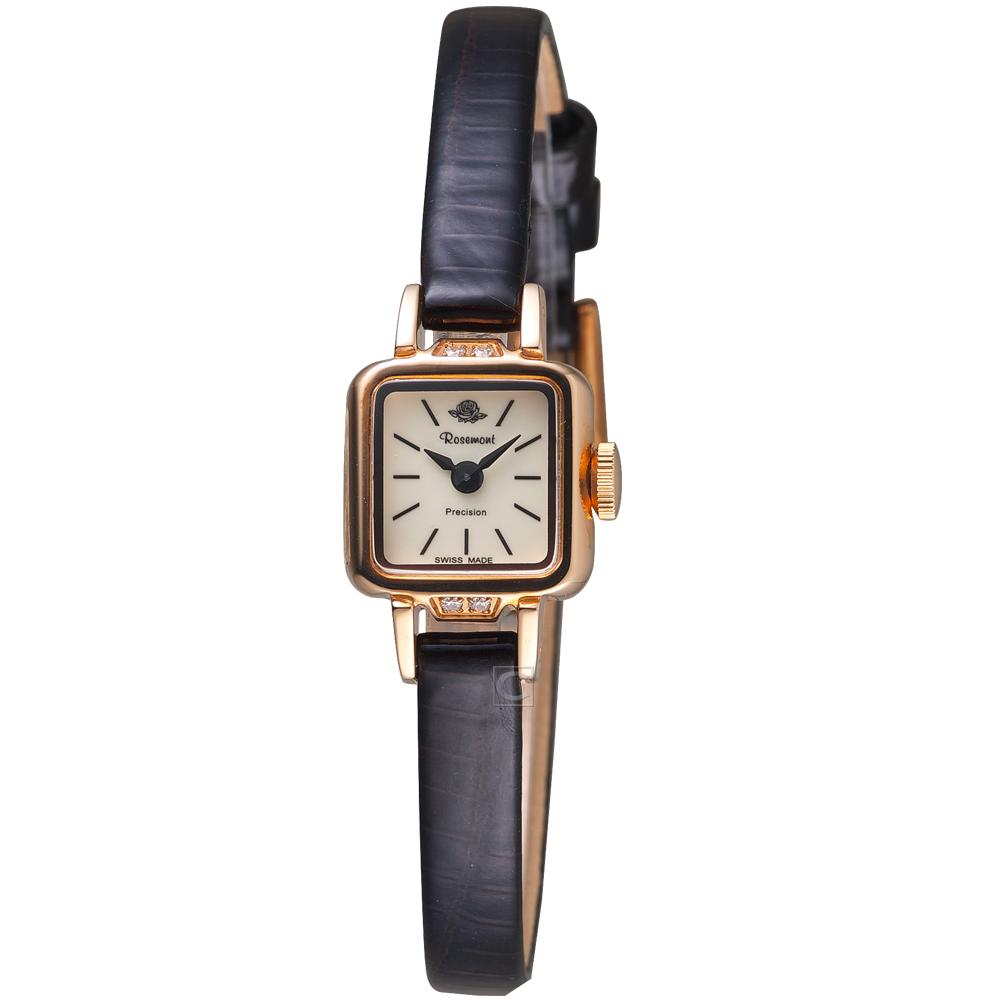 Rosemont 玫瑰錶 柏林1928系列優雅淑女錶(RS05-05-BR)-深咖啡