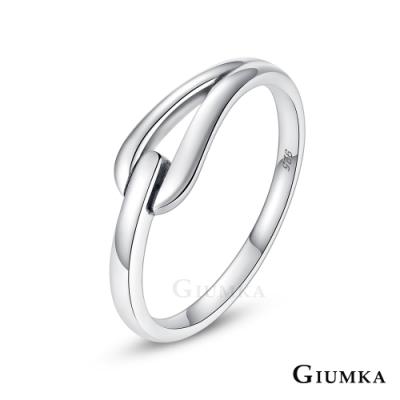 GIUMKA情侶純銀戒指伴你一生925純銀男女戒尾戒