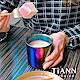 TiANN 鈦安純鈦餐具 純鈦 雙層品茗杯(極光)250ml product thumbnail 1