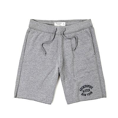 麋鹿 AF A&F 經典標誌運動休閒短棉褲-灰色
