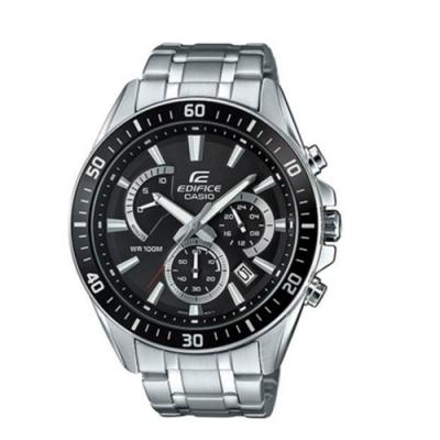 CASIO卡西歐 極速時尚魅力俐落帥氣指針男腕錶(EFR-552D-1A)-黑x47mm