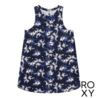【ROXY】VALUE LINE TEE DRESS 洋裝 海軍藍