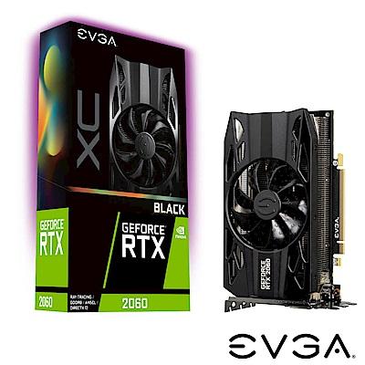 艾維克EVGA RTX2060 6GB XC Black Edition GDDR6 顯示