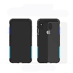 Telephant太樂芬 NMD iPhone XS MAX 黑-配聖保羅(附背蓋)