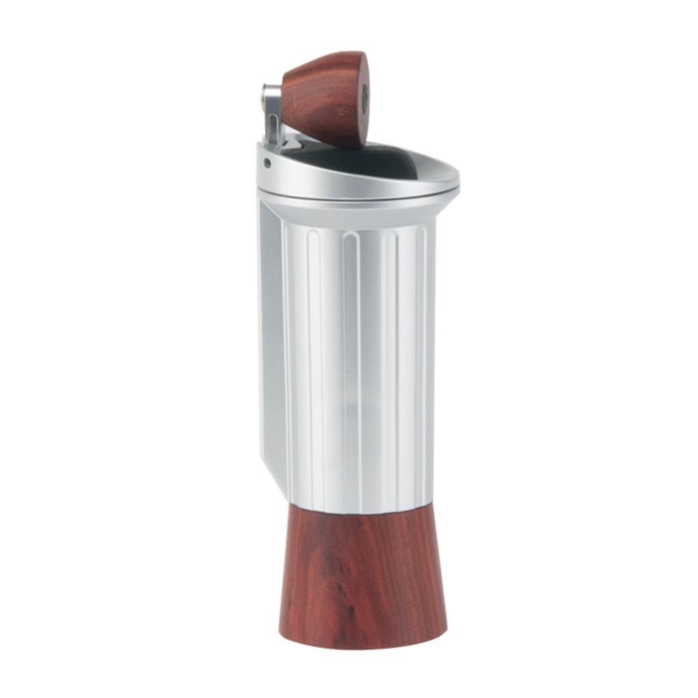 Tiamo M9 隱形手柄磨豆機-銀色(HG6306)