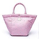 VOVAROVA空氣包-造型百變托特包-French Pom Pom- Pink