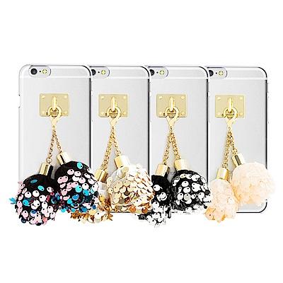 DDPOP iPhone 7 韓流明星手機殼 派對彩球吊飾款