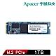 Apacer 宇瞻 AS2280P4 1TB M.2 PCIe Gen3 x4 SSD固態硬碟 product thumbnail 1