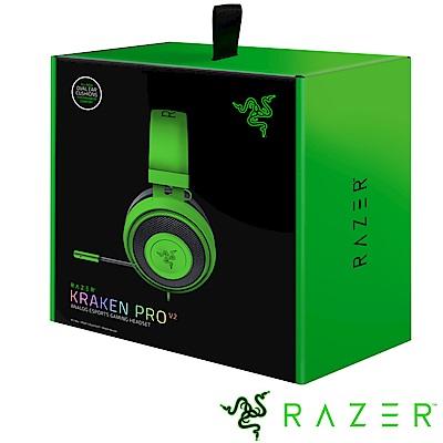 Razer 雷蛇 Kraken Pro V2 北海巨妖專業版耳機麥 (綠)