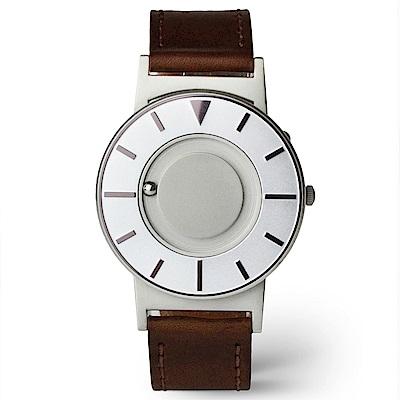 EONE 美國設計品牌 Bradley 觸感腕錶-耀眼紫-牛皮錶帶