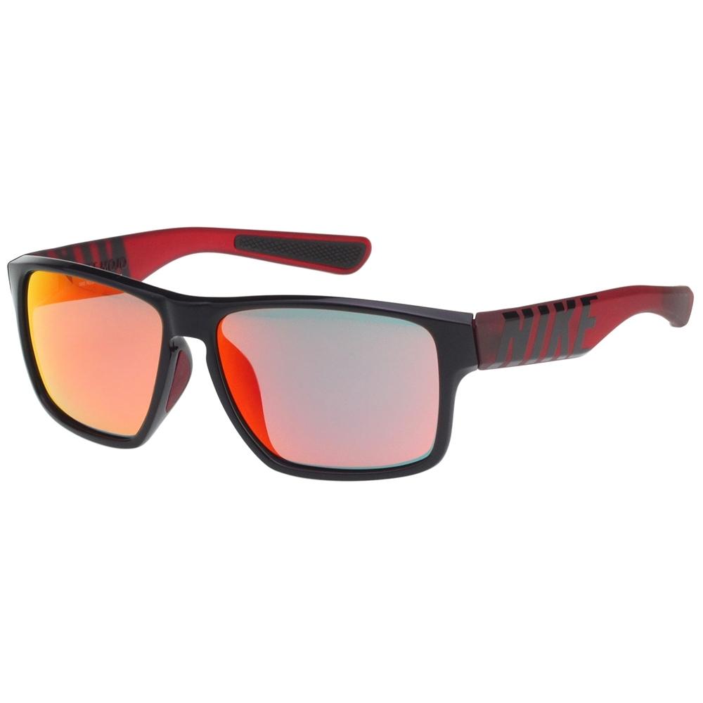 NIKE 水銀面 太陽眼鏡(黑配紅)EV1148