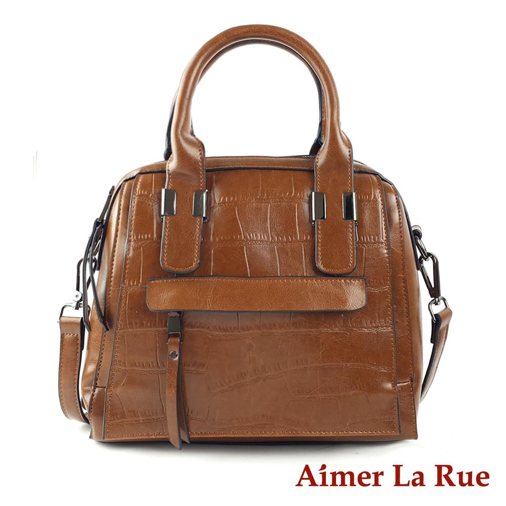 Aimer La Rue 手提側背斜背包 牛皮聖馬科斯系列(三色)