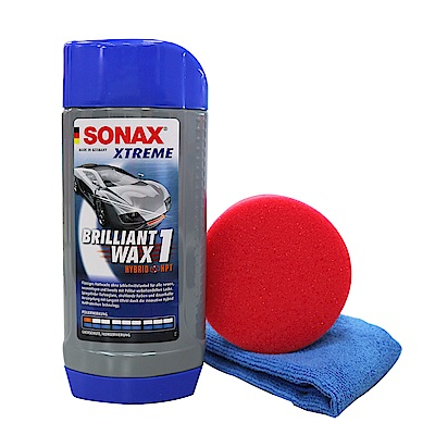 SONAX舒亮 新車鍍膜500ml-急速配