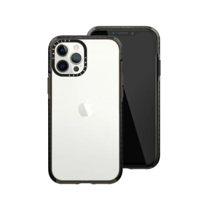 Casetify iPhone 12/12 Pro 耐衝擊保護殼-透黑