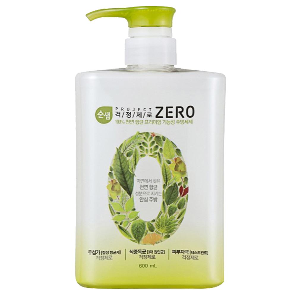 韓國AK  ZERO全植物蔬果碗盤洗潔液 600ml