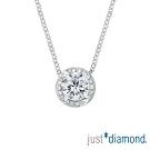 Just Diamond 薔薇花語系列 GIA 30分 G/VS2 18K金鑽石項鍊