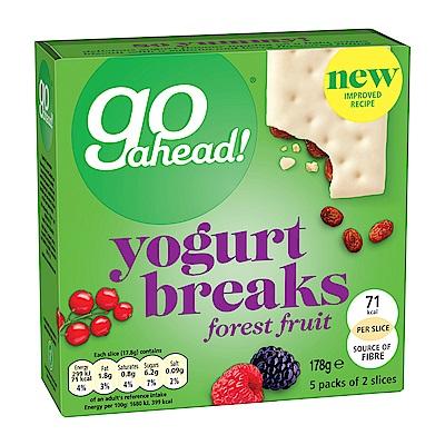 盡吃樂Go ahead 優格森林莓果夾心酥餅(5包/盒)