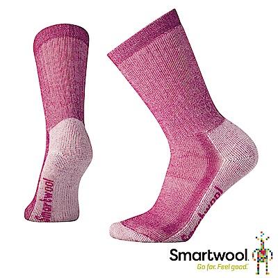 SmartWool 女中級減震型徒步中長襪 莓紫