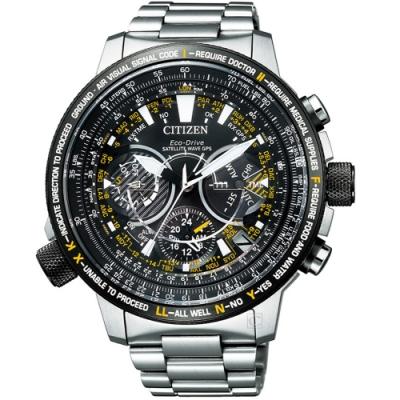 CITIZEN星辰PROMASTER GPS衛星對時鈦金屬手錶(CC7014-82E)