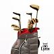 【Lynx Golf】男款Lynx山貓 Black Cat高爾夫套桿組(附球袋)-金頭 product thumbnail 2