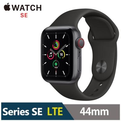 Apple Watch SE 44mm 鋁金屬錶殼配運動錶帶(GPS+Cellular版)