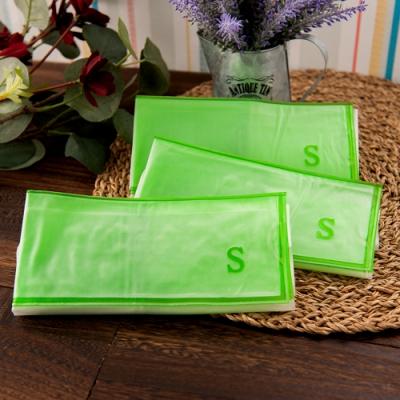 真空靜電式壓縮袋 小型輕鬆捲收納組索樂生活(S-3入).真空收納袋 靜電壓縮袋 衣物收納