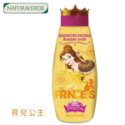 自然之綠-迪士尼貝兒公主兒童橙花泡泡沐浴露 300ml