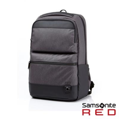 Samsonite RED TAEBER 簡約精巧大容量筆電後背包15 (灰)