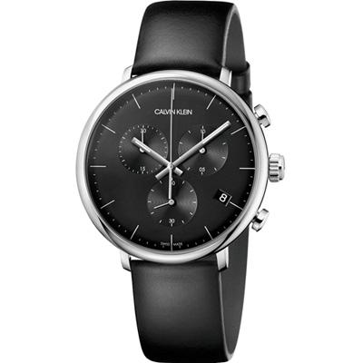 Calvin Klein high noon系列極簡計時腕錶(K8M271C1)