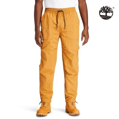 Timberland 男款小麥黃色ARCHIVE戶外休閒慢跑長褲|A22G1P47