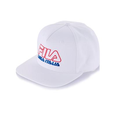 FILA 時尚LOGO帽-白 HTT-5205-WT