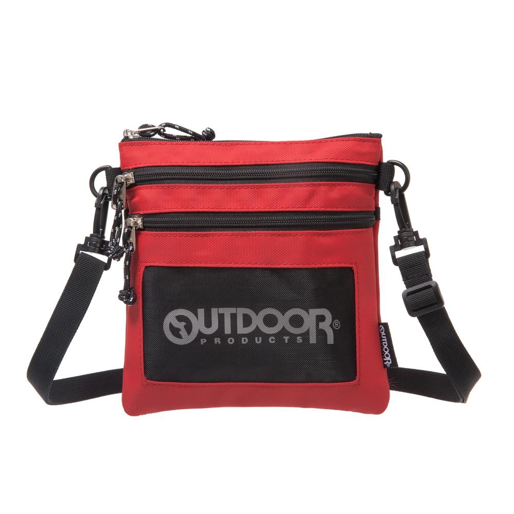 【OUTDOOR】旅遊配件-直式隨身包-紅色 ODS18L03RD