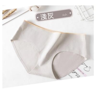 抗菌石墨烯純棉中腰內褲-淺灰